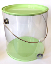 Plastic Can ( large ) Lime