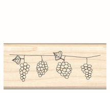 Wood Stamp- Spring Collection-Gorgeous Grapes