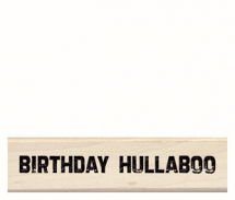 Wood Stamp-Birthday-Birthday Hullaboo