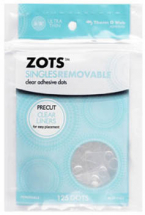 ThermoWeb ZOTS - Singles Removable - 125pack