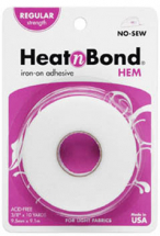 HeatnBond - HEM - Regular Tape 3/8inch x 10yd Roll