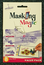 ThermoWeb - Masking Magic 8 Clear Sheets 106x137mm