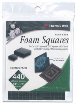 ThermoWeb - Black Foam Squares Value Pack
