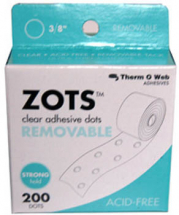 ThermoWeb - ZOTS 3/8inchRemovable 200 pack