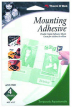 ThermoWeb - Mounting Adhesive Sheet - 4 Pack