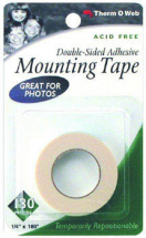 ThermoWeb - Mounting Adhesive Tape 1/4inchx15'
