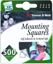 ThermoWeb - Mounting Squares 500 Per Box