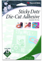 ThermoWeb - Sticky Dot Sheet 106x137mm