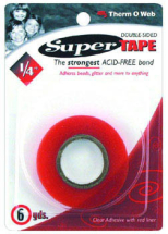 ThermoWeb - Super Tape 1/4inch x 6 Yds