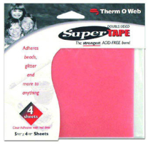 ThermoWeb - Super Tape Sheet 4.5inch x 5.5inch(4 Sheets)