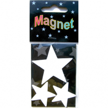 Assorted Magnetic Shapes stars 5-3pcs -