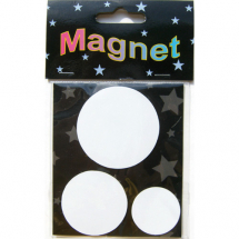 Assorted Magnetic Shapes rounds 5-4-3cm