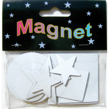 Assorted Magnetic Shapes inchclassicinch 9pcs