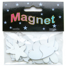 Assorted Magnetic Shapes inchfancyinch 9pcs -
