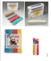 Permoplast and Plast-i-Clay
