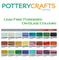 Potterycrafts On-Glaze Lead Free Powder