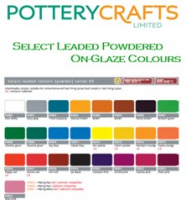 Select On-Glaze Leaded Powder (25,100&500g)