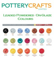 Potterycrafts Leaded Powder Colour