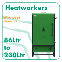 Front Loading Heatworker 90 to 230lt
